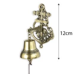 Dzwonek wiszący kotwica - 12cm - 374 - FR208