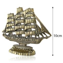 Figurka metalowa żaglowiec - 10cm - 376 - FR210