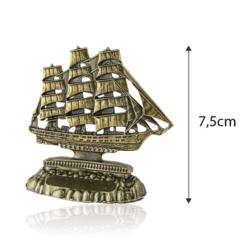Figurka metalowa żaglowiec - 7,5cm - 377 - FR211
