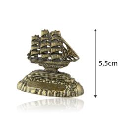 Figurka metalowa żaglowiec - 5,5cm - 378 - FR212