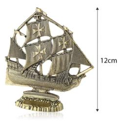 Figurka metalowa żaglowiec - 12cm - 380 - FR213