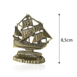Figurka metalowa żaglowiec - 8,5cm - 381 - FR214