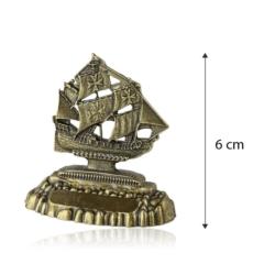 Figurka metalowa żaglowiec - 6cm - 382 - FR215