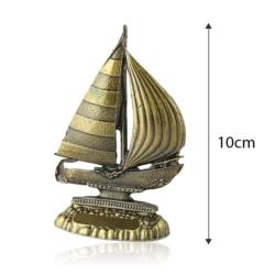 Figurka metalowa żaglówka - 10cm - 384 - FR217
