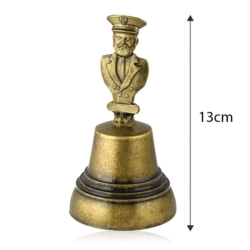 Figurka dzwonek z Kapitanem - 13cm - 427 - FR219