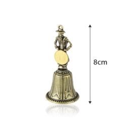 Figurka dzwonek Żyd z grosikiem - 8cm - FR223