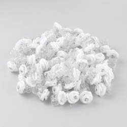 Żabki do włosów z kryształem - 100szt - KŚ250