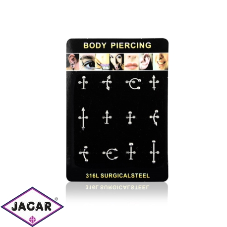 Body Piercing - 12szt - PRC01