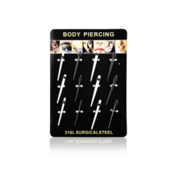 Body Piercing - 12szt - PRC03