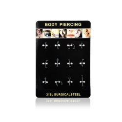 Body Piercing - 12szt - PRC07