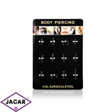 Body Piercing - 12szt - PRC07
