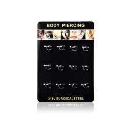 Body Piercing - 12szt - PRC09