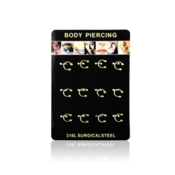 Body Piercing - 12szt - PRC10