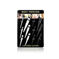 Body Piercing - 12szt - PRC16