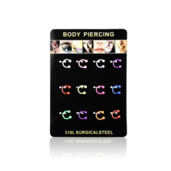 Body Piercing - 12szt - PRC20