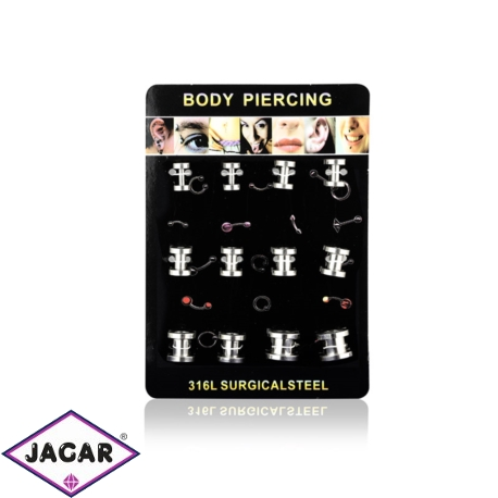 Body Piercing - 12szt - PRC22