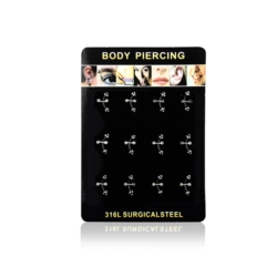 Body Piercing - 12szt - PRC23