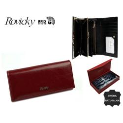 Portfel damski - 8801-BPR red - P628
