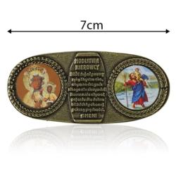 Plakietka samoprzylepna - Modlitwa kierowcy FR232