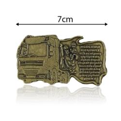 Plakietka samoprzylepna - Modlitwa kierowcy FR234