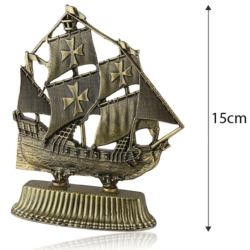 Figurka metalowa - Żaglowiec -  FR237