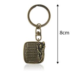 Brelok metalowy - Modlitwa kierowcy - BM169