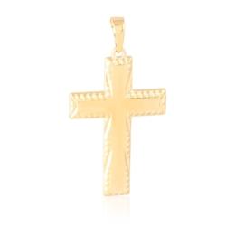 Krzyżyk pozłacany Xuping - 4,8cm - PRZ1740