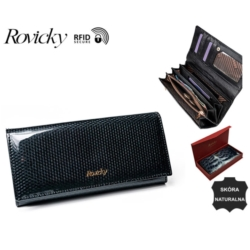 Portfel damski - 8805 - SBR Black - P651