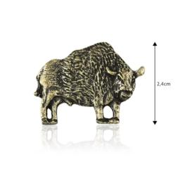 Figurka metalowa - Żubr - 10szt - FR241