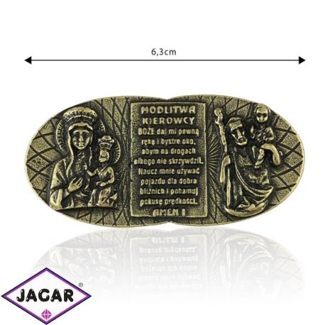 Figurka metalowa - Modlitwa kierowcy - FR243