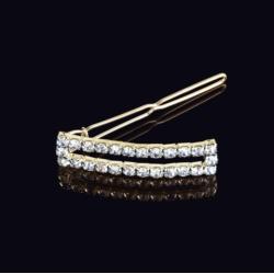 Ślubna kryształowa spinka do włosów 5cm - OS207