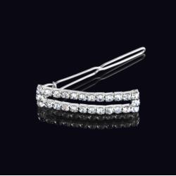 Ślubna kryształowa spinka do włosów 5cm - OS208