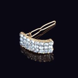 Ślubna kryształowa spinka do włosów 3,3cm - OS209