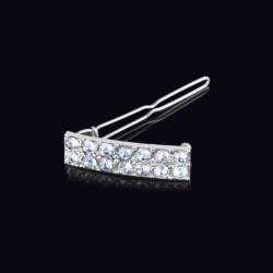 Ślubna kryształowa spinka do włosów 4,2cm - OS212