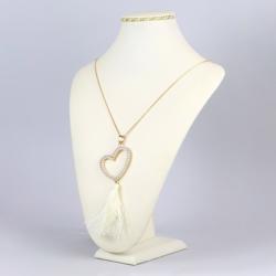 Naszyjnik serce z chwostem - NA1136