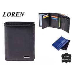 Portfel męski - 3201 black - P653