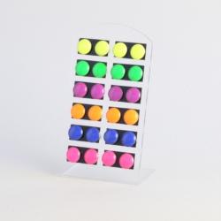 Kolczyki na paletce - 12szt. - EA1102