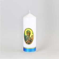 Świeca ołtarzowa Maria z Dzieciątkiem 18cm - SG68
