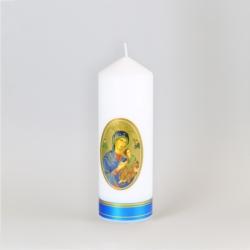Świeca ołtarzowa Maria z Dzieciątkiem 18cm - SG69