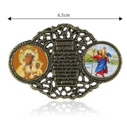 Figurka metalowa - Modlitwa kierowcy - FR245