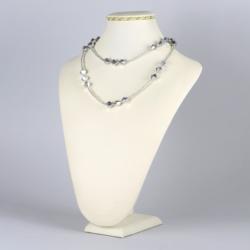 Naszyjnik srebrny kryształ - NA1230