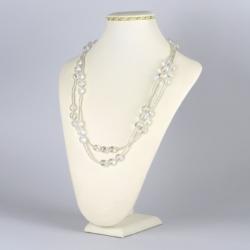 Naszyjnik srebrny kryształ - NA1231