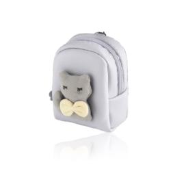 Brelok plecaczek z kotkiem - PU160