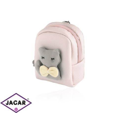Brelok plecaczek z kotkiem - PU162
