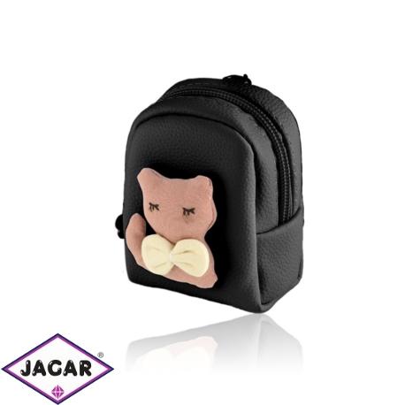 Brelok plecaczek z kotkiem - PU163