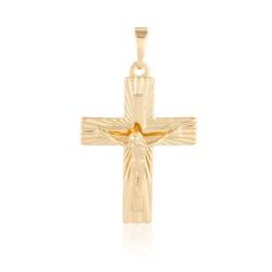 Krzyżyk pozłacany - 4,2cm - Xuping PRZ1783