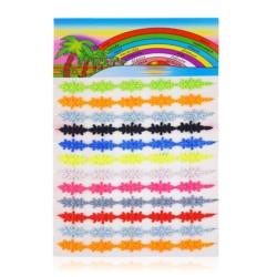 Bransoletki haftowane na paletce 12szt BRA898