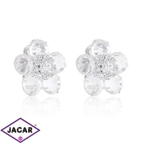 Klipsy czeskie kryształy - EA1423