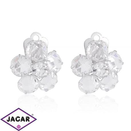 Klipsy czeskie kryształy - EA1425