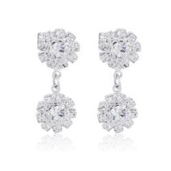 Kolczyki czeskie kryształy - EA1430
